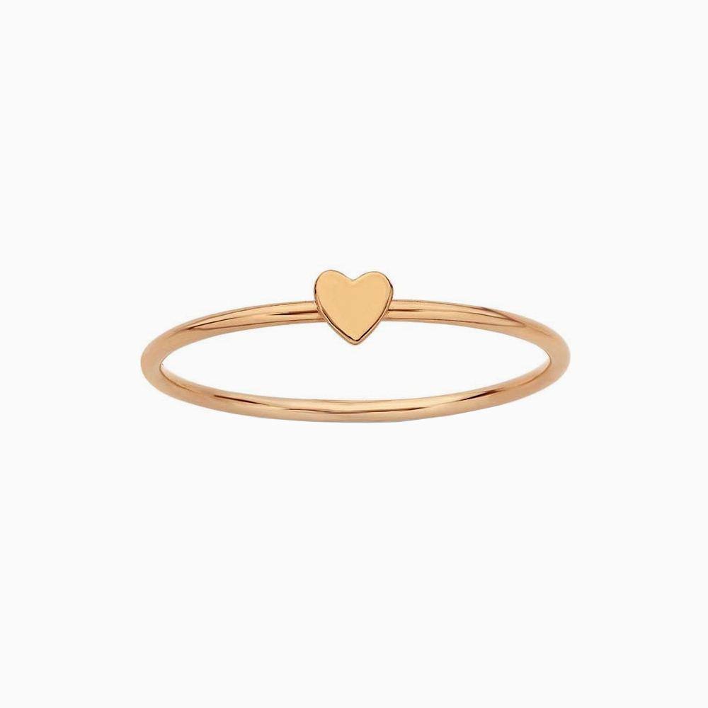 Teeny Tiny Heart Ring