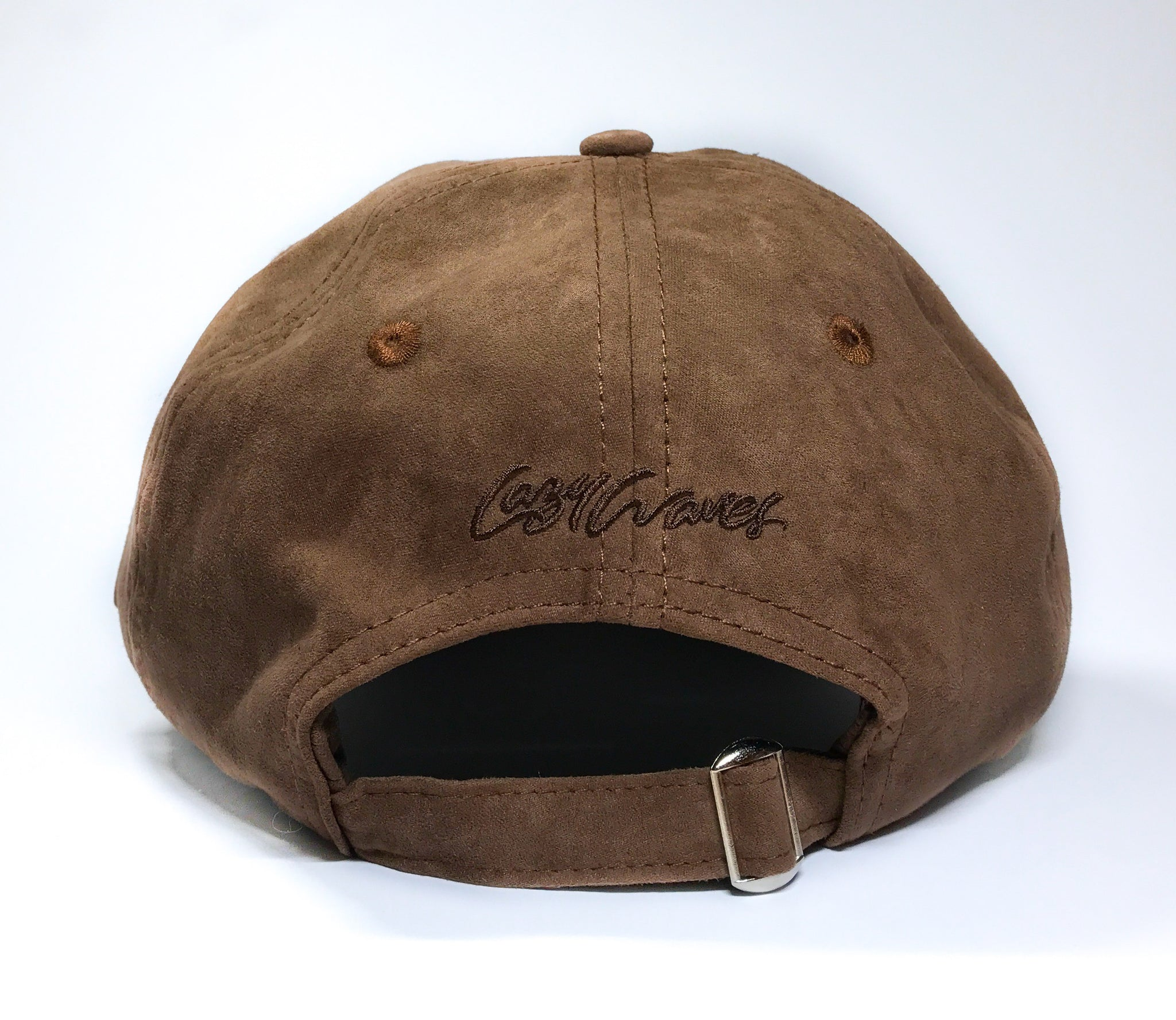 Chocolate Suede Cap - Lazy Waves