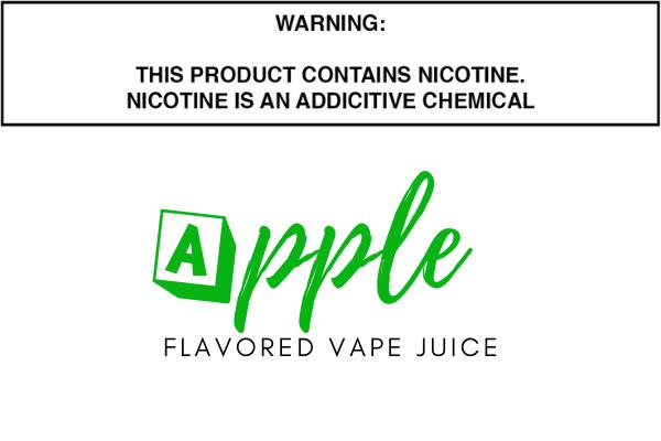 Apple Flavored E Juice