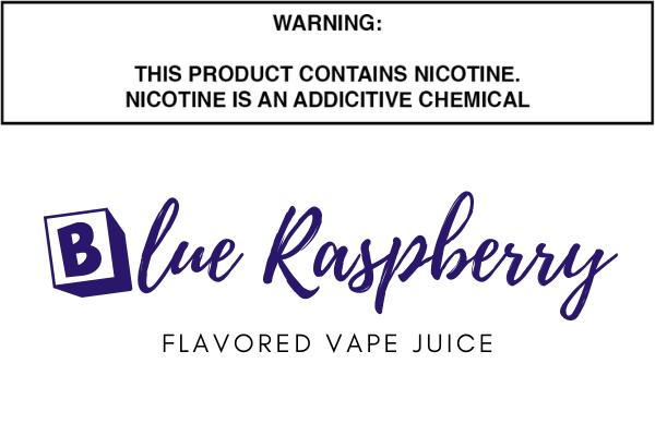 Blue Raspberry Flavored E Juice