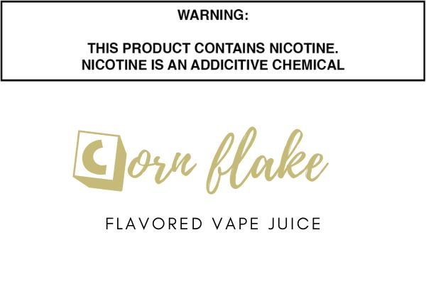 Corn Flake Cereal Flavored E Juice