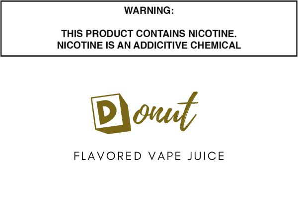 Donut Flavored E Juice
