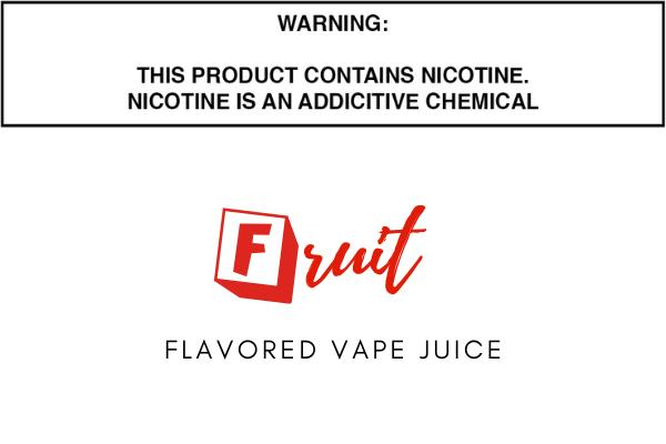 Fruit Flavored E Juice