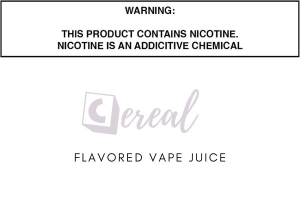 Fruity Cereal Flavored E Juice