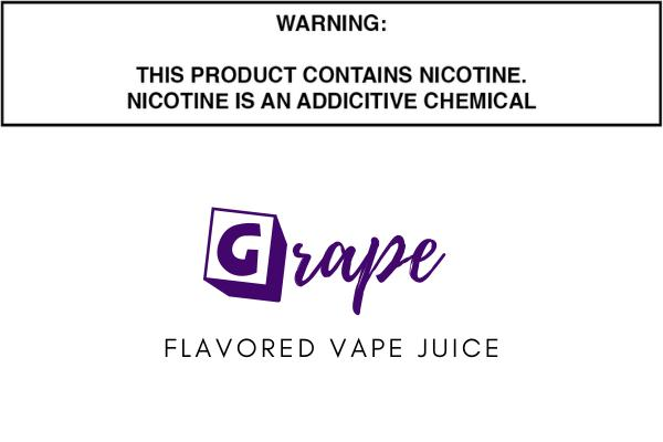 Grape Flavored E Juice