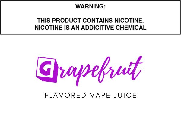 Grapefruit Flavored E Juice