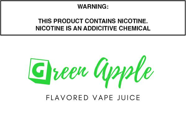 Green Apple Flavored E Juice