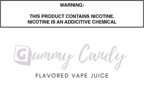 Gummy Candy Flavored E Juice