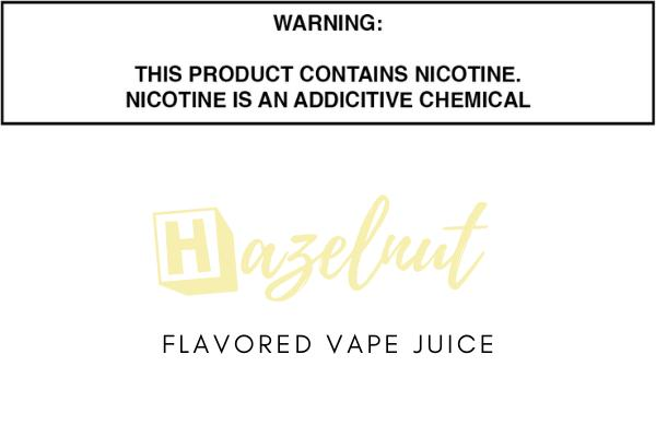 Hazelnut Flavored E Juice