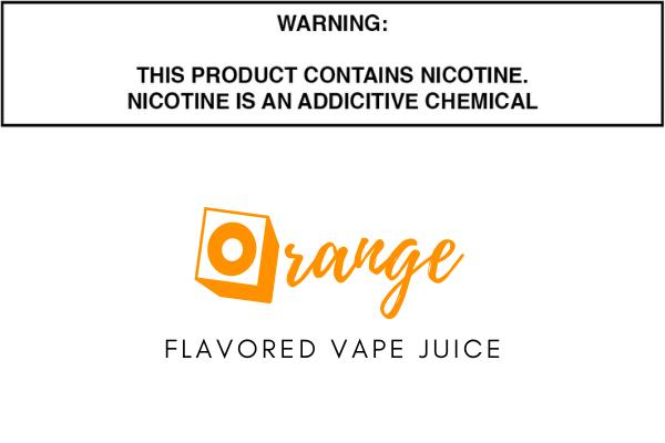 Orange Flavored E Juice