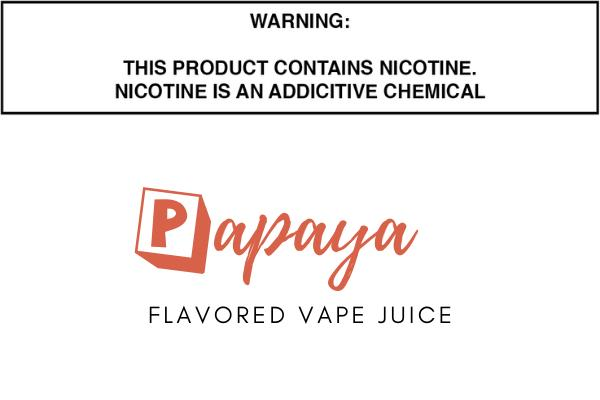 Papaya Flavored E Juice