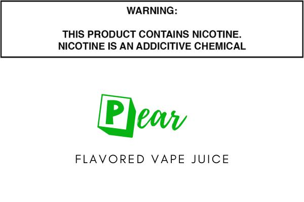 Pear Flavored E Juice