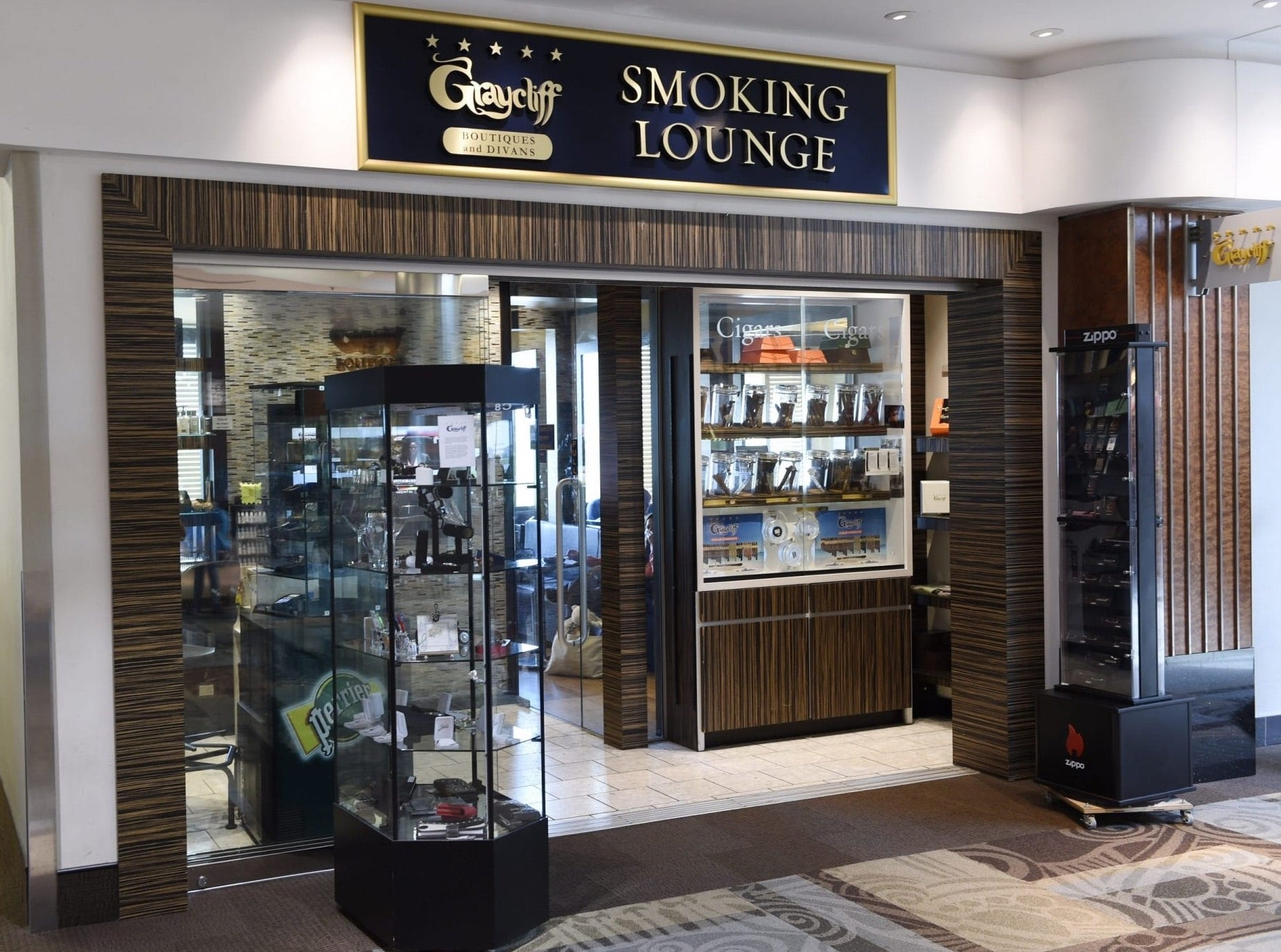 Best Airport Smoking Lounges US