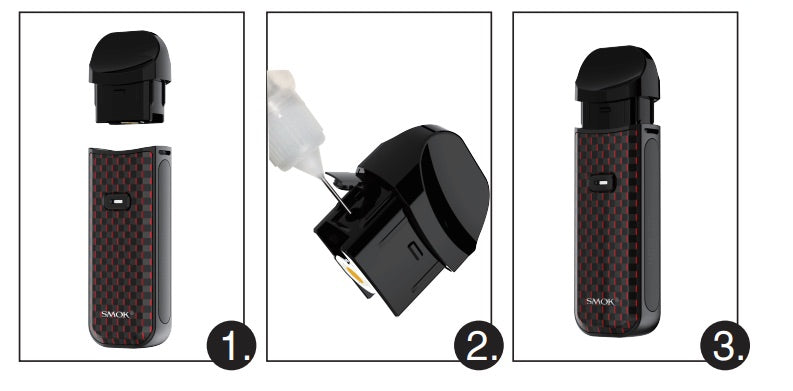 How to Fill SMOK Nord 2 Pod