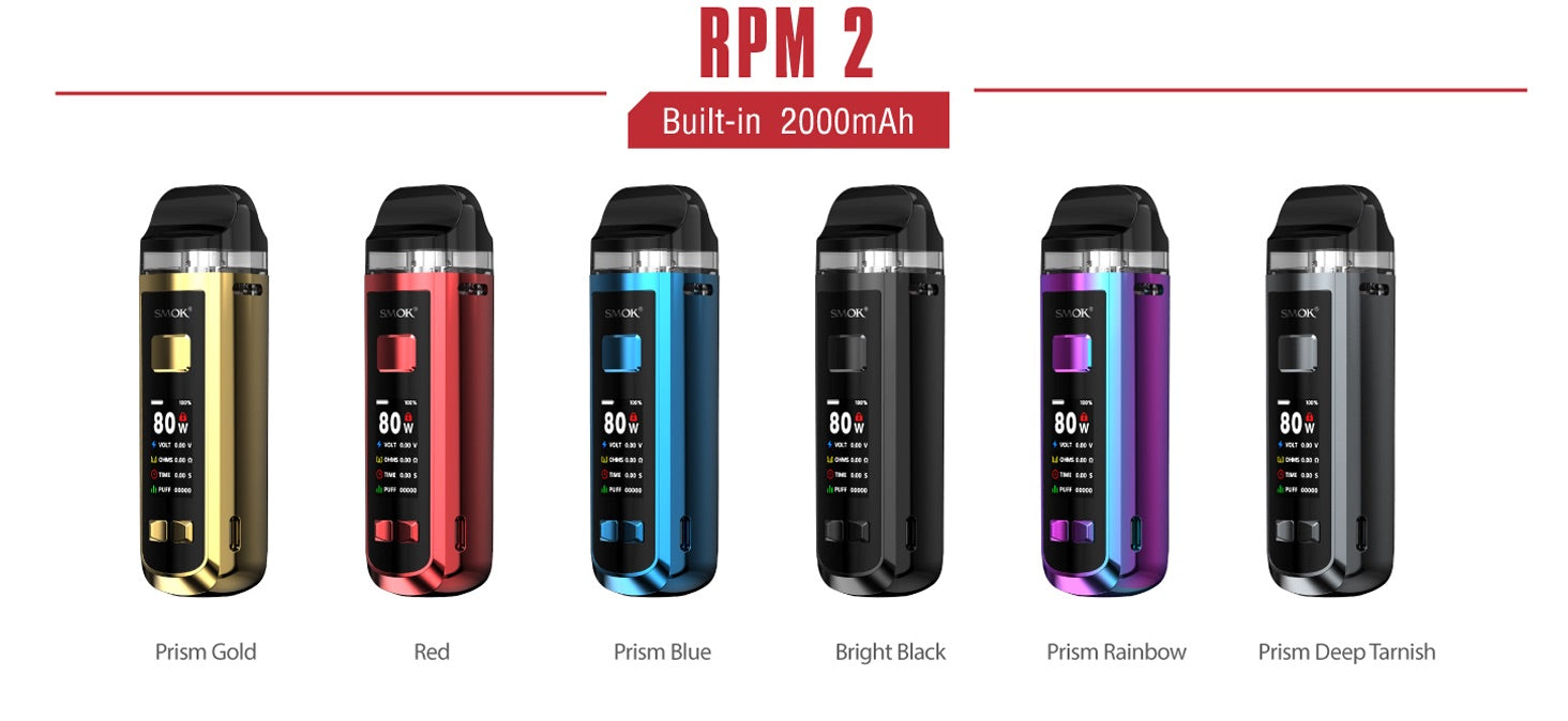 SMOK RPM2 Instructions