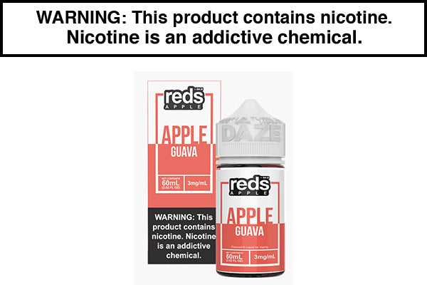GUAVA APPLE BY RED'S E JUICE