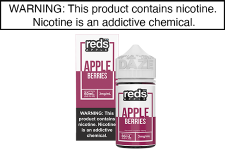 RED APPLE BERRY BY RED'S APPLE E JUICE