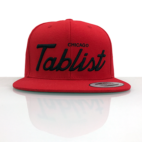 Chicago Tablist Snapback Hat