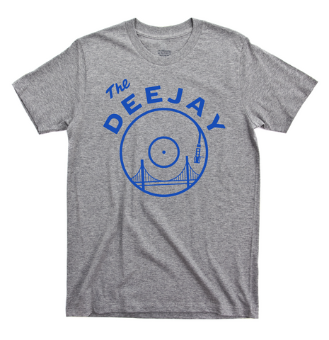 The Deejay T-Shirt (Heather Grey)