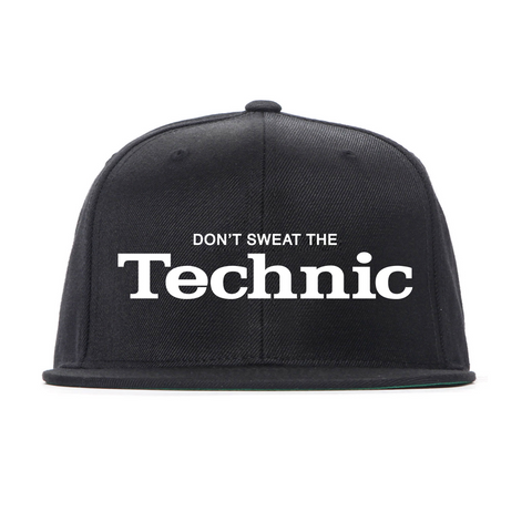 Don't Sweat The Technic Snapback Hat