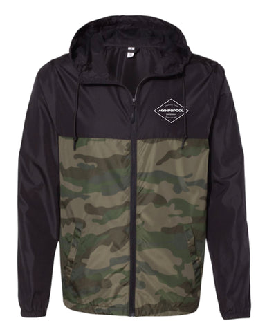 MMP Diamond Windbreaker Zip Up Jacket