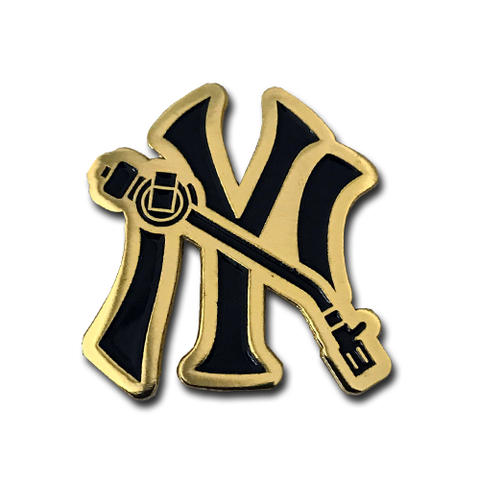 NY Tone Arm Lapel Pin