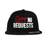 Sorry No Requests Snapback Hat (Red/White)