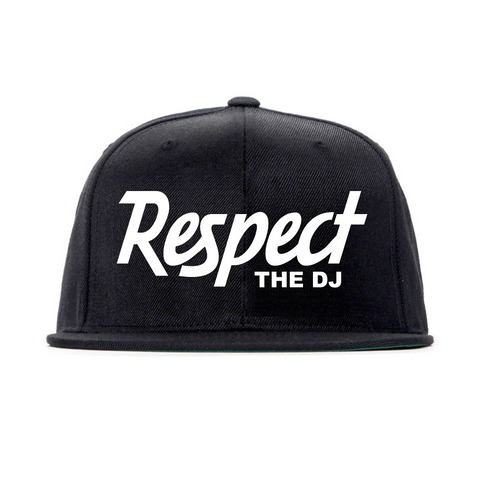 Respect The DJ Snapback Hat