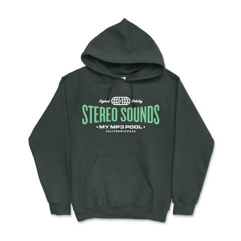Stereo Sounds Hoody (Forest Green)