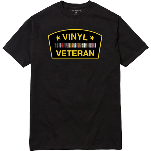 Vinyl Veteran T-Shirt (Black)