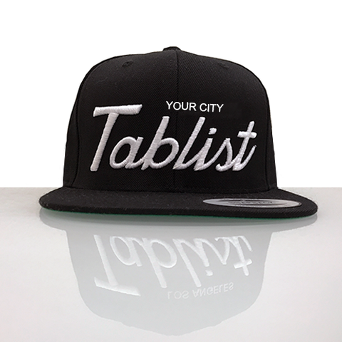 "Custom ""Your City"" Tablist Snapback Hat"
