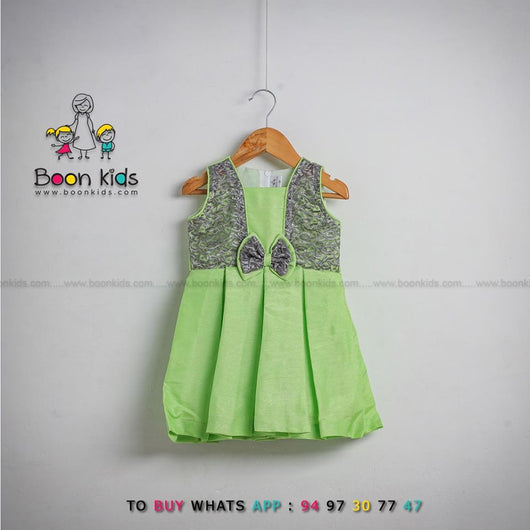 Green Wings Frock