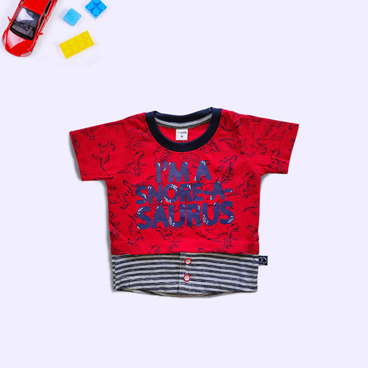 Half Sleeves Boys Printed T-Shirt