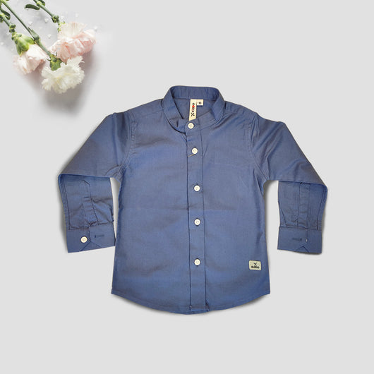 Boys Full Sleeves Cotton Shirt