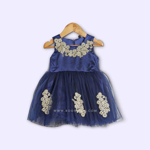 Navy Blue  Party frock