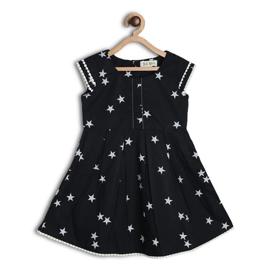 Star Print cotton frock