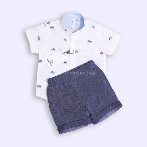 Boys Shirt & Shorts Set