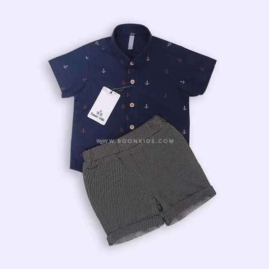 Boys Shirt & Shorts Set 05