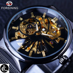 Super Thin Mechanical Skeleton Watch
