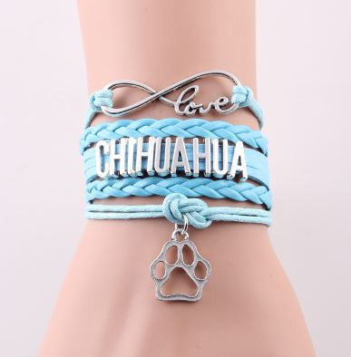 Chihuahua Infinity Love Bracelet. Limited Supply!