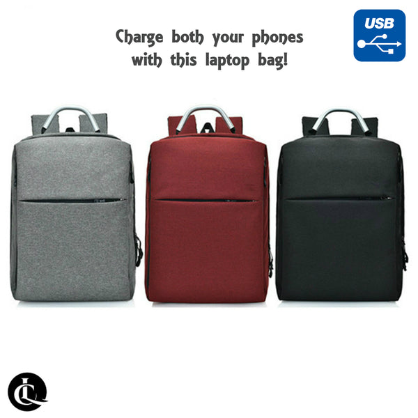 Laptop Backpack with Dual USB port