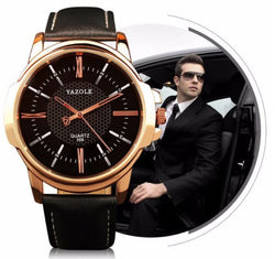 Mens Luxury Style Quartz Watch