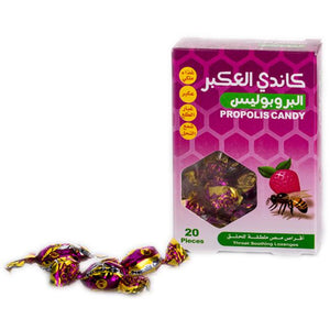 Propolis with strawberry drops candy