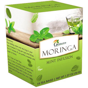 Moringa Tea with Mint