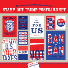 Stamp Out Trump Postcard Set