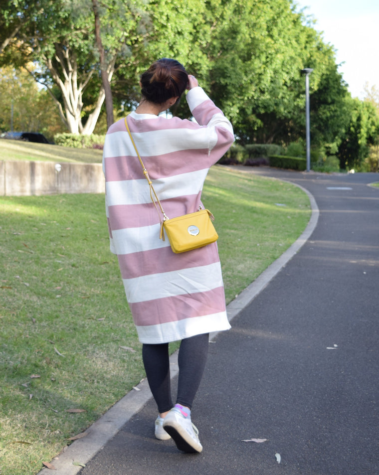 Stripe Cosy Dress