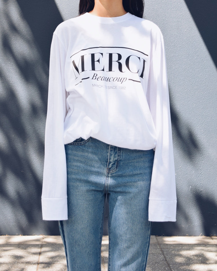 Merci T-shirt (3 colours)