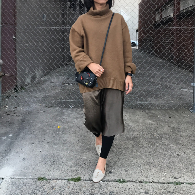 Claire Turtle Knit