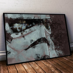 Storm Trooper Poster. Storm Trooper Painting Print.