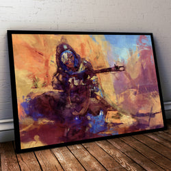 Overwatch Poster. Overwatch ana Painting Print.